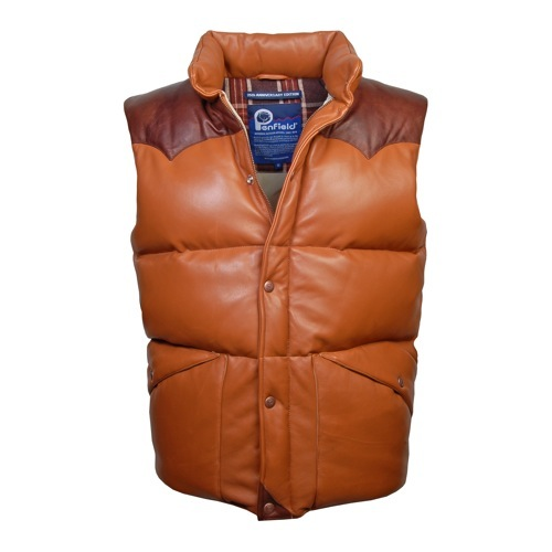 Penfield Leather Outback Vest 35th Anniversary Edition