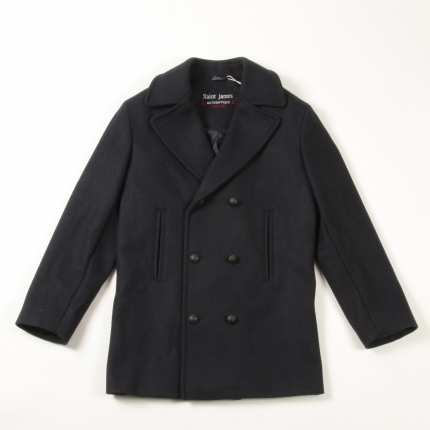 Pea Coat Kinda Guy | Saint James Galion Pea Coat