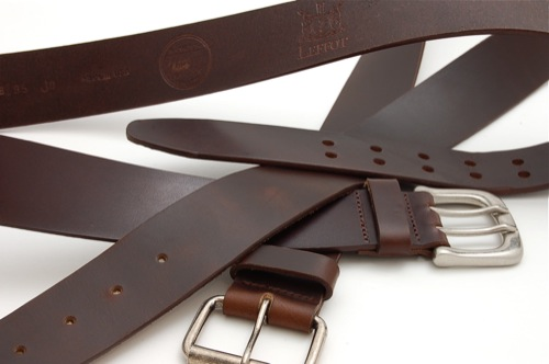 Horween for Leffot Leather Belts