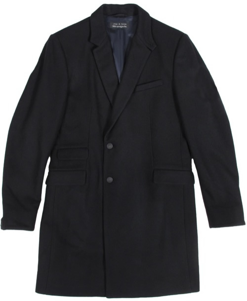 rag & bone for Odin New York Single Breasted Overcoat