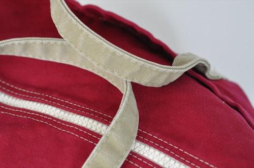 Wm. J. Mills & Co. Jitney Cargo Bag Stonewashed Vintage Series in Napthol Red