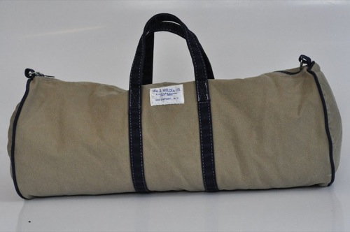 Wm. J. Mills & Co. Sag Harbor Duffel Stonewashed Vintage Series in Tan