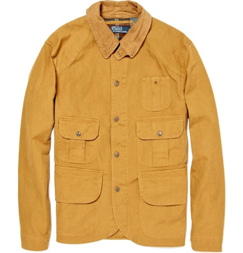Polo Ralph Lauren Canvas Cotton Jacket