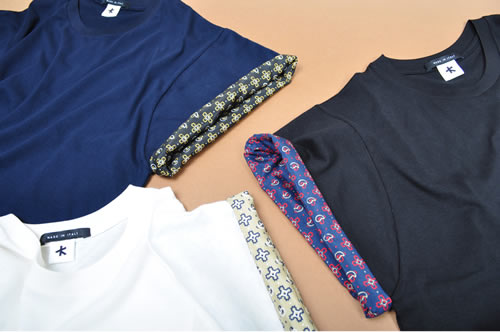 Adam Kimmel Roll Sleeve Bandana Shirts