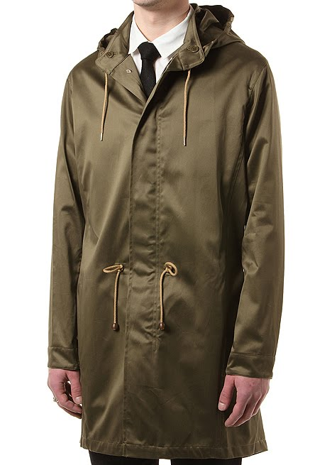 Essential Outerwear | A.P.C. Military Parka