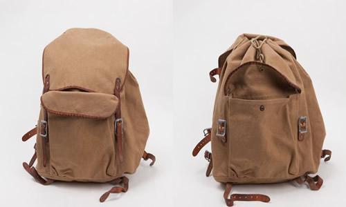 Levi's Vintage Clothing Khaki Knapsack Bag