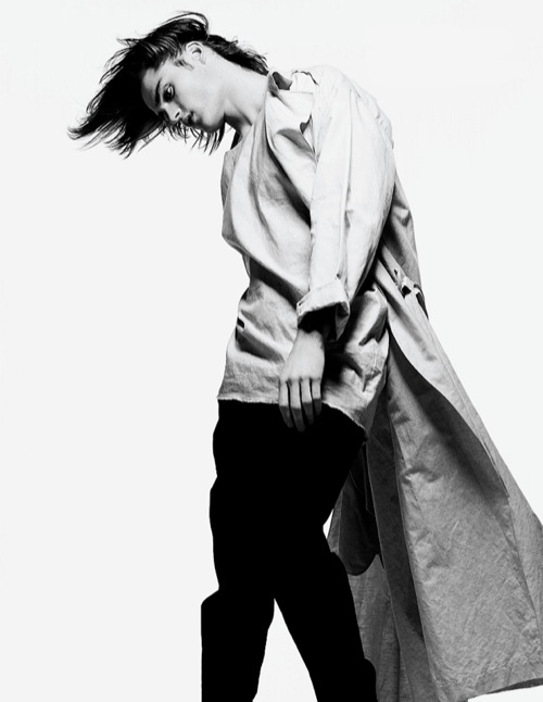 Dior Homme Spring/Summer 2011 Editorial for Fashionisto Print