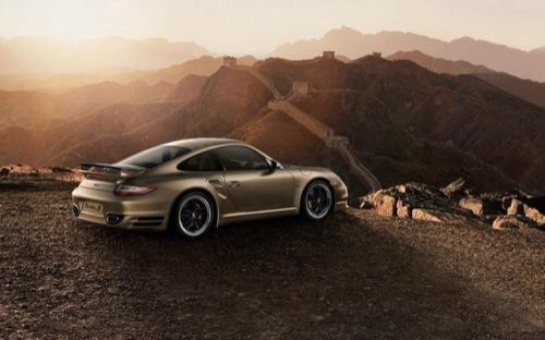Porsche 911 Turbo S China 10th Anniversary Edition