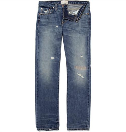 Simon Spurr   The 5 Year Anniversary Denim Jeans