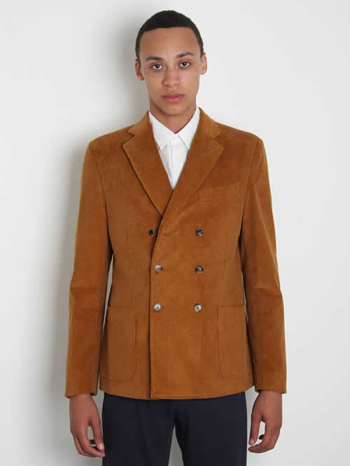 Band of Outsiders Corduroy Double-Breasted Blazer for Fall 2011