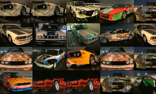 BMW Art Car Collection Video