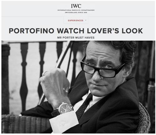 IWC x MR PORTER | Portofino Watch Lover's Look