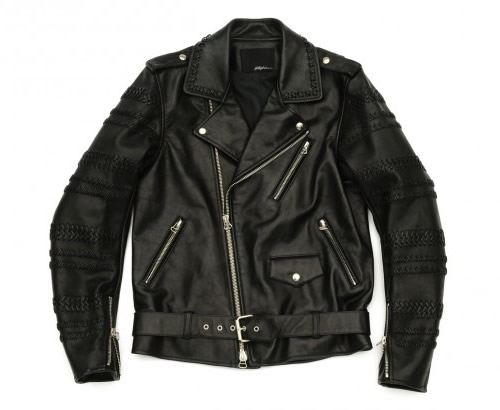3.1 Phillip Lim Motorcycle Jacket with Hand Braided Sleeves
