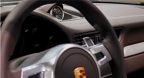 The 2012 Porsche 911's Interior Design Philosophy