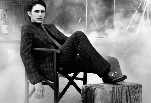James Franco for Gucci Made To Measure