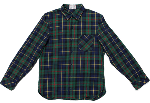 Left Field Tartan Overshirts