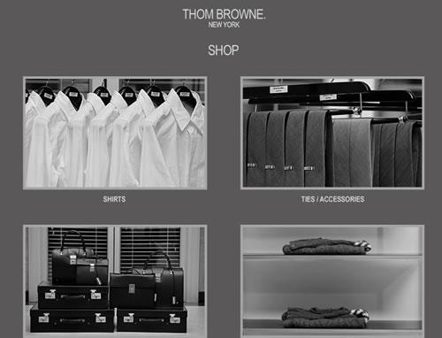 thom browne online shop now open. Black Bedroom Furniture Sets. Home Design Ideas