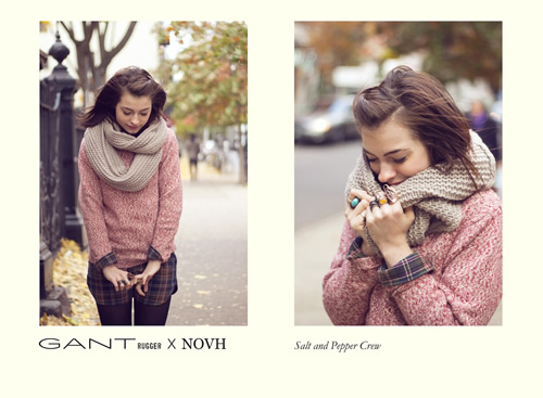GANT Rugger x NOVH Fall/Winter 2011 Holiday Collection Lookbook