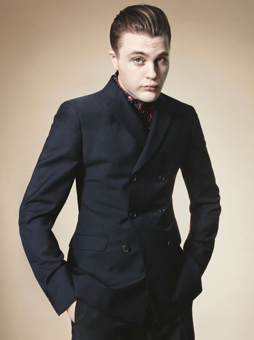 Prada Spring/Summer 2012 Men's Campaign with Michael Pitt