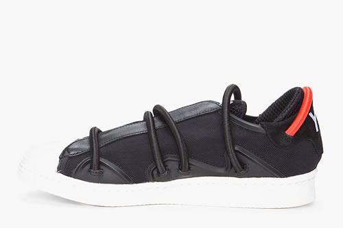 Y-3 Black Cord Lace Sneaker Spring/Summer 2012