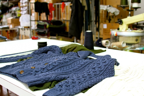 G.R.P. Knitwear Factory Tour Carmignano - Florence, Italy