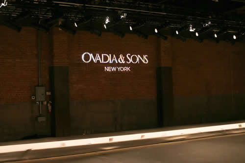 Ovadia & Sons Spring/Summer 2014 Presentation at NYFW