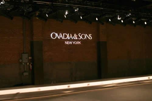 Ovadia & Sons Spring/Summer 2014 Presentation at NYFW