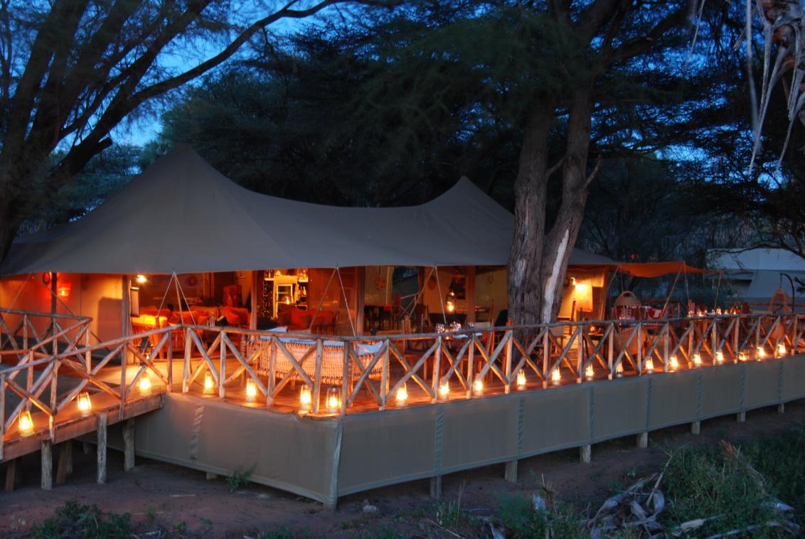 Elephant Bedroom Safari Camp via Gamewatchers Safaris