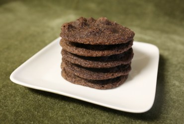 Chewy Chocolate Mint Cookies | Pork Cracklins