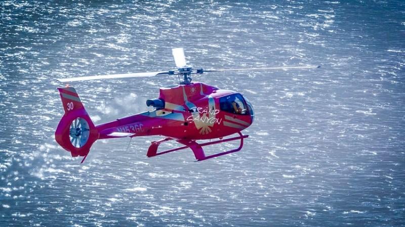 Gran Cañon tour helicoptero