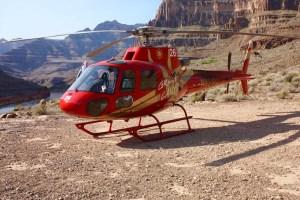 Helicoptero Gran cañón