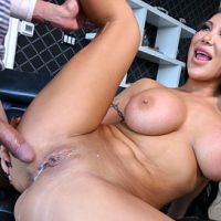 August Taylor Creampied by Her Step-Son Bangbros