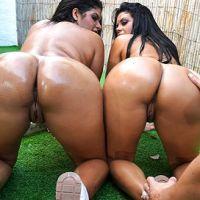 Kesha & Sheila Ortega's Huge Asses Bangbros