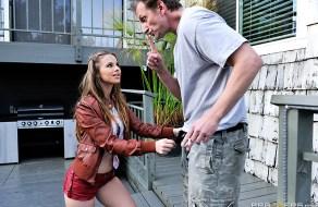 fotos La jovencita guarra de Jillian Janson sorprende a su amante