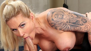 Dominant MILF Gets A Creampie After Anal Sex – Ryan Conner