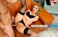 Elle McRae cheats on husband with manly neighbor – Elle McRae