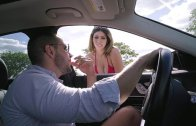 Valentina Jewels Hitches A Free Ride And Pays In Sexual Favors – Valentina Jewels