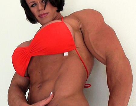female muscle hentai