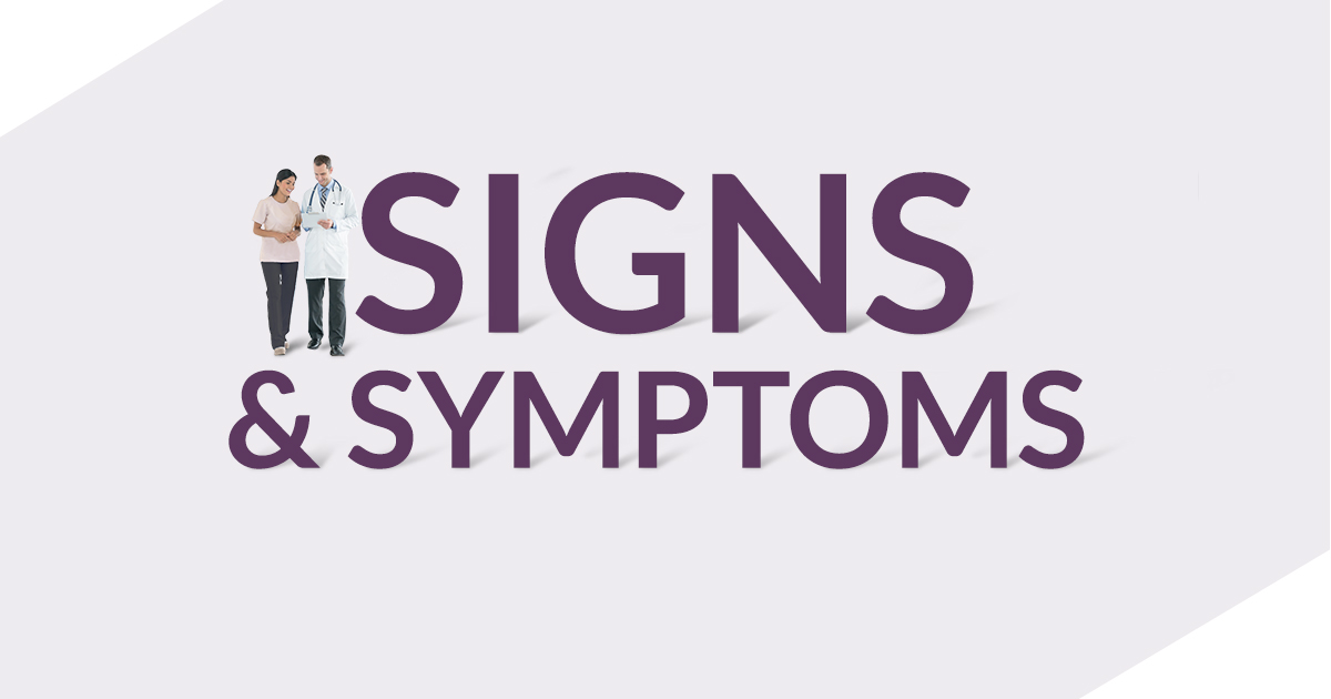 signs symptoms of acute