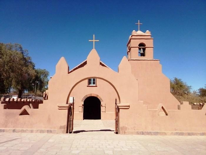 Fotografía de la Iglesia de San Pedro de Atacama.
