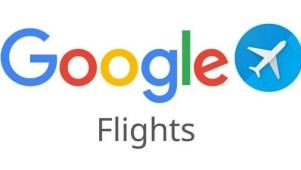 Logo del buscador de vuelos de Google.