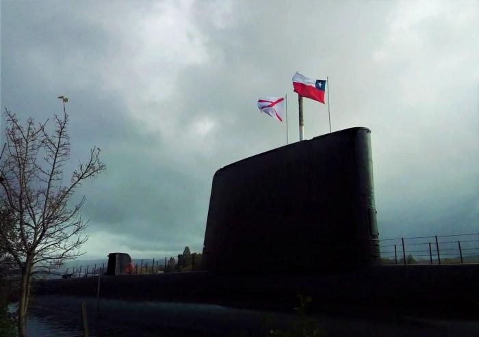 Fotografía del Museo Submarino O'Brien.