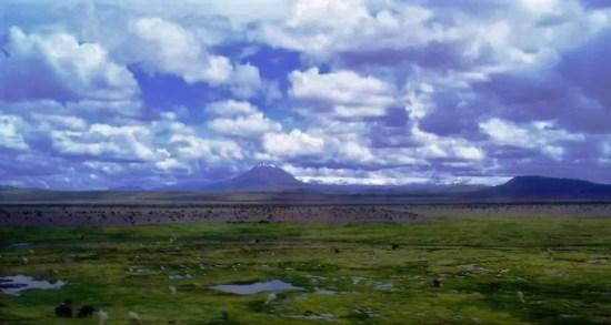 Fotografía del Altiplano Boliviano.