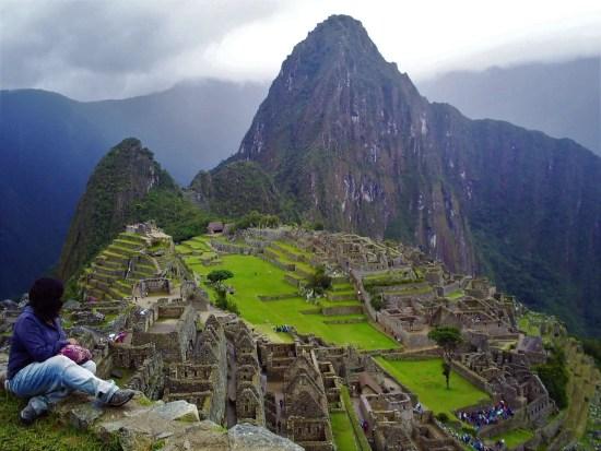 Fotografía en Machu Picchu, finalizando mi primer viaje.