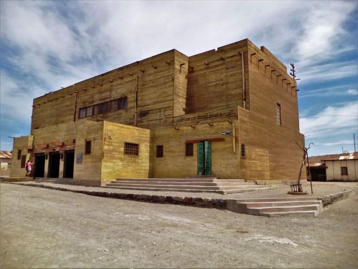 Teatro de Humberstone.