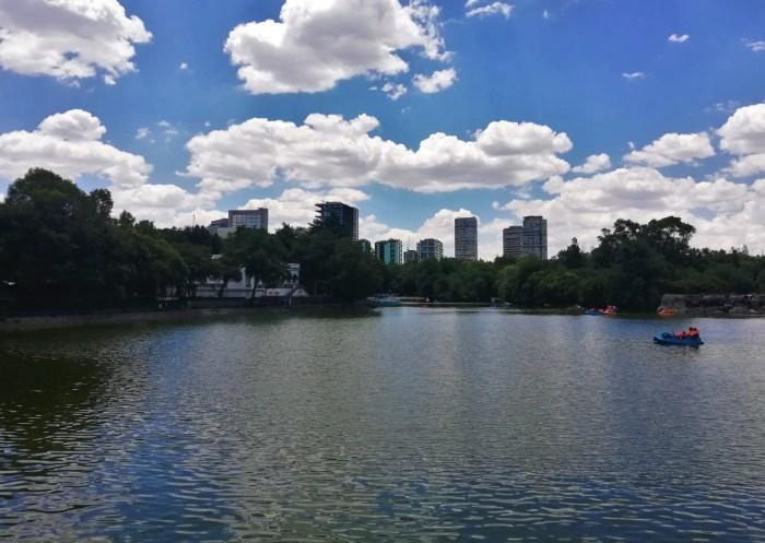Lago de Chapultepec.