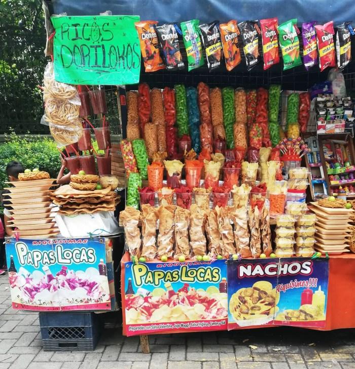 Carrito de la feria de Chapultepec.