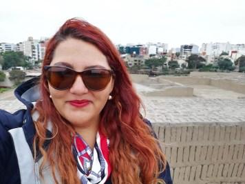 Foto viajando sola y barato en Lima.
