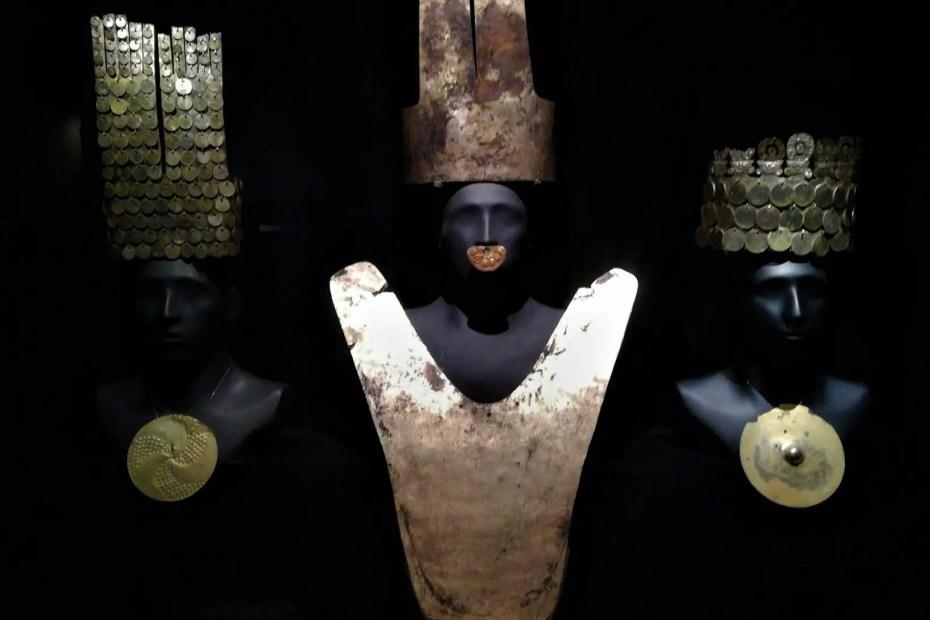 Piezas del Museo Larco de Lima.