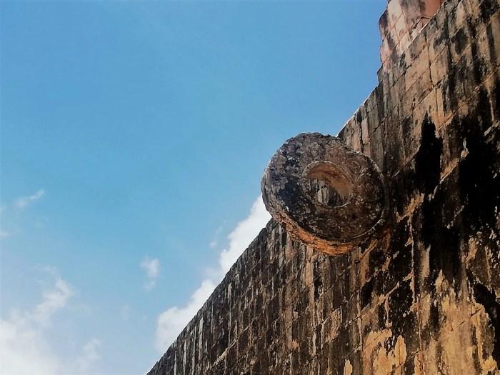 Arco del Juego de Pelota de Chichén Itzá.